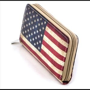 🇱🇷❤️🇱🇷 American Flag Wallet ❤️‼️